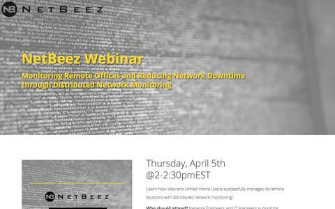 NetBeez Webinar