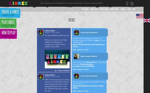Screenshot of Press Page playlinkee.com - News | - captured Nov. 2, 2014