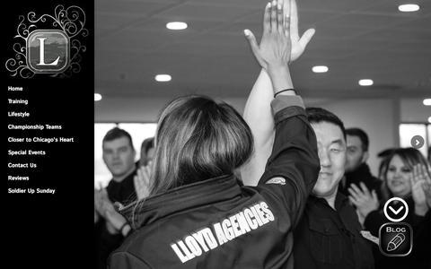 Screenshot of Team Page lloydagencies.com - Lloyd Agencies | Our champion executive management team - captured May 22, 2017