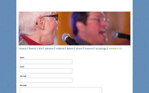 Screenshot of Contact Page soulpajamas.com - Soulpajamas - contact us - captured Jan. 28, 2018