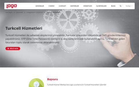 Turkcell Hizmetleri | Entegrasyon Çözümleri | Logo Yazılım
