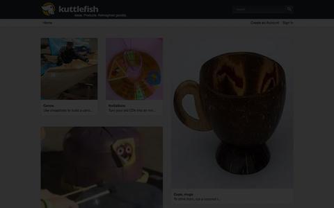 Screenshot of Login Page kuttlefish.com captured Oct. 29, 2014