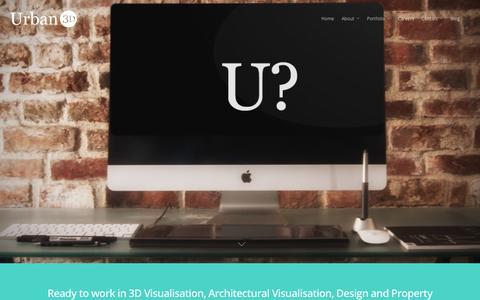 Screenshot of Jobs Page urban3d.net - Work for Us | Careers - Urban 3D - captured Jan. 10, 2016