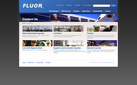 Contact Us - Fluor.com