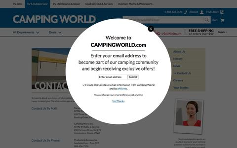 About Us - Camping World
