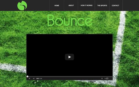 Screenshot of Home Page bounce24x7.com - bounce24x7 - captured Oct. 5, 2014