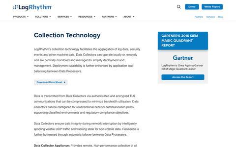 Collection Technology | LogRhythm