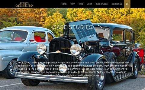 Screenshot of Case Studies Page nyghtfalcon.com - Case Studies - NyghtFalcon Portal - captured Oct. 29, 2014
