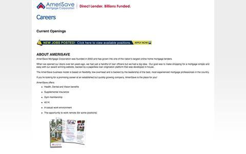 Amerisave Careers - Amerisave Careers