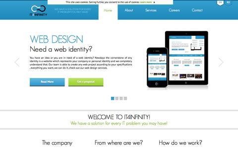 Hosting, development, design and more - IT4Infinity.com