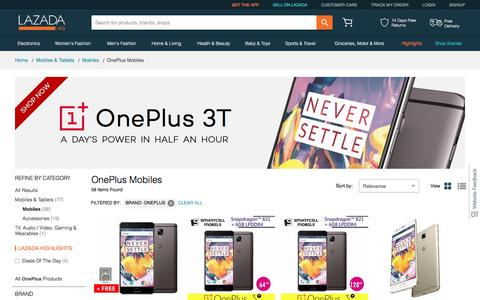 Buy OnePlus Mobiles Online | OnePlus One | Lazada