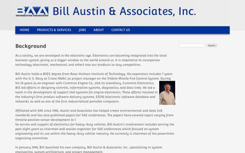 Background | Bill Austin & Associates, Inc.