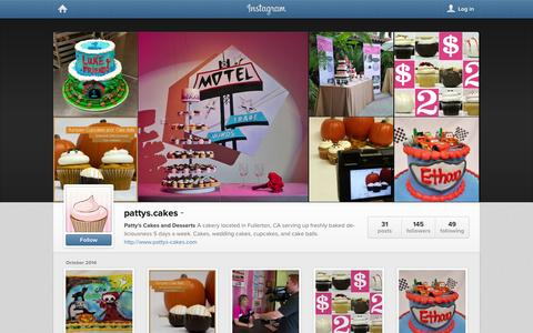 Screenshot of Instagram Page instagram.com - Instagram - captured Nov. 1, 2014