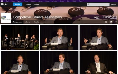Screenshot of Flickr Page flickr.com - Flickr: Competitive Carriers Association's Photostream - captured Oct. 22, 2014