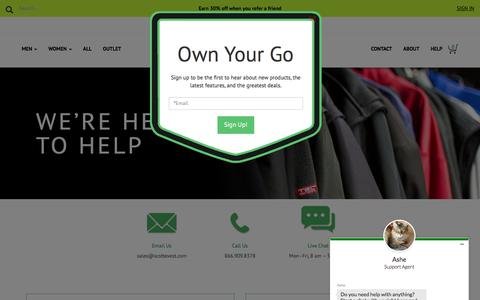 Customer Service - SCOTTeVEST Help