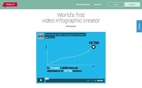Screenshot of infogr.am - Create infographics & online charts   infogr.am - captured Dec. 13, 2014