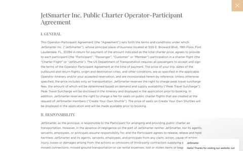 Public Charter Agreements