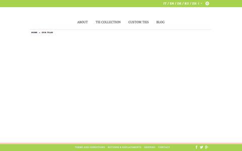 Screenshot of Team Page farabeo.com - Our Team  - Farabeo - captured Nov. 25, 2016