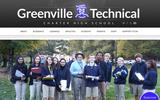 Old Screenshot Greenville Technical Charter High School Home Page