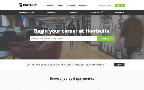 Careers at Hootsuite | Hootsuite job opportunities