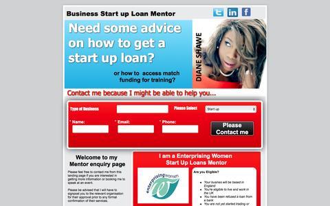 Screenshot of Landing Page pagewiz.net - Start up loans mentor virgin start up women start up loans 30+ - captured April 5, 2016