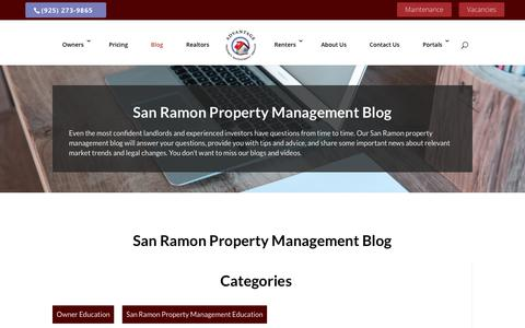 Screenshot of Blog advantagepms.com - Advice for Tenants & Landlords | Advantage PMS - captured Oct. 3, 2018