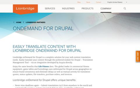 onDemand for Drupal