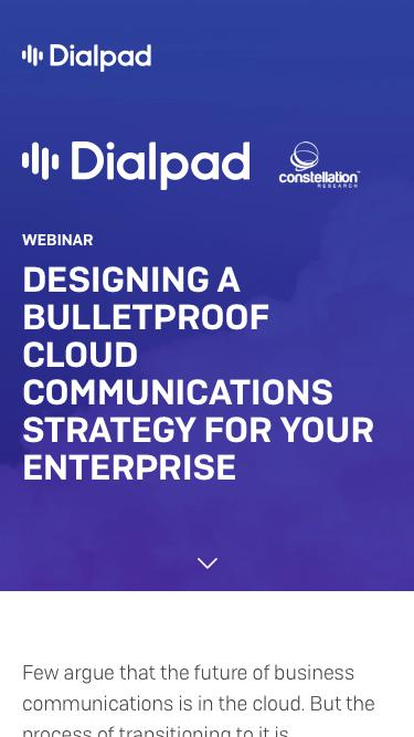 Communications in the Cloud | Dialpad