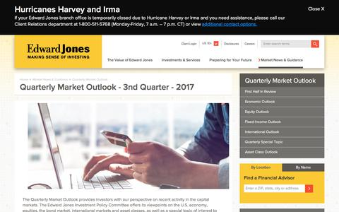 Quarterly Market Outlook | Edward Jones