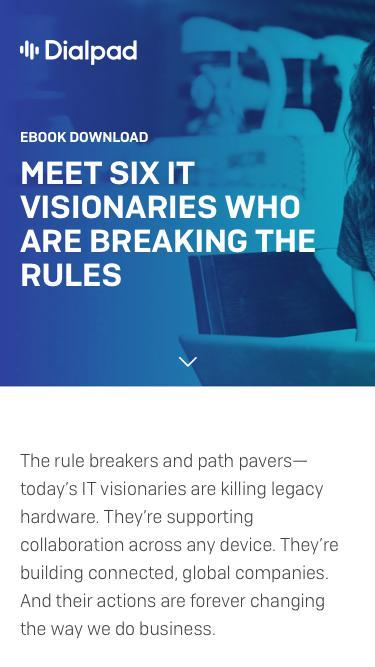 IT Visionaries eBook   Dialpad