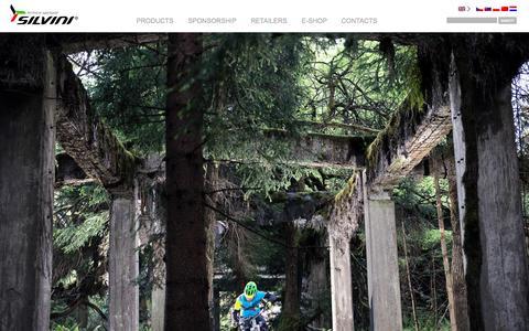 Screenshot of Press Page silvini.com - News SILVINI - captured July 21, 2015