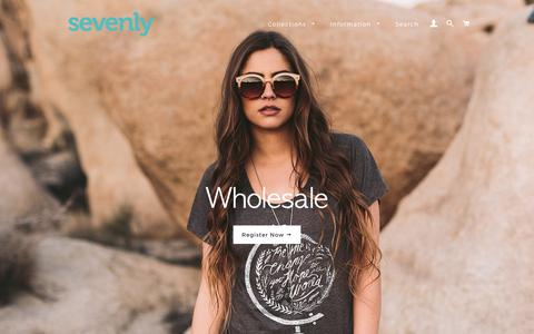 Sevenly Wholesale
