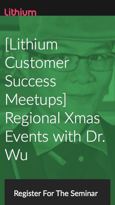 Seminar: Dr. Wu's Digital Transformation Xmas Roadshow