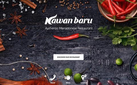 Screenshot of Home Page kawanbaru.com - Kawan Baru - captured Feb. 12, 2016