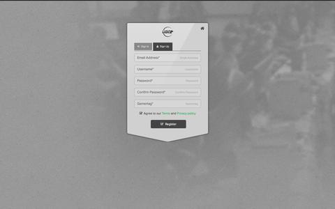 Screenshot of Signup Page ugcevents.com - Member Sign Up | UGC - captured Nov. 3, 2014