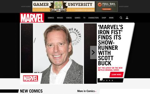 Marvel.com: The Official Site | Iron Man, Spider-Man, Hulk, X-Men, Wolverine and the heroes of the Marvel Universe.Comics,  News, Movies and Video Games | Marvel.com