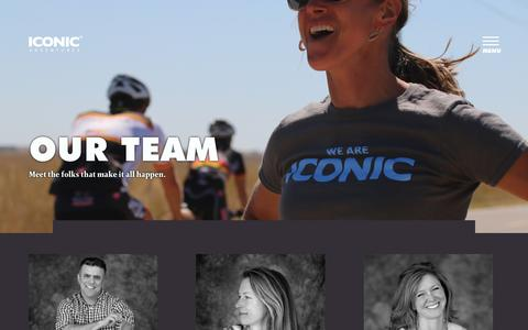Screenshot of Team Page iconicadventures.com - Our Team | Iconic Adventures - captured Sept. 11, 2018