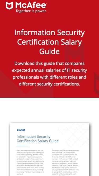 Information Security Certification Salary Guide