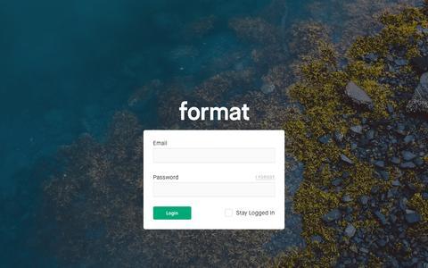 Login — Format