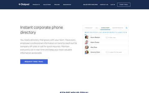 Dynamic Phone Directory for Google Apps Businesses   Dialpad