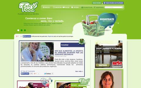 Screenshot of Blog facilfood.cl - Blog - FácilFood - Planificar es la Receta - captured Nov. 4, 2014