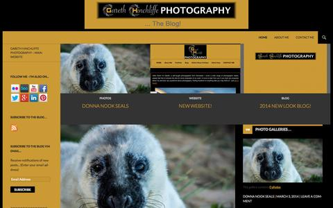 Screenshot of Blog gareth-hinchliffe.co.uk - Gareth Hinchliffe Photography …   … The Blog! - captured Oct. 2, 2014