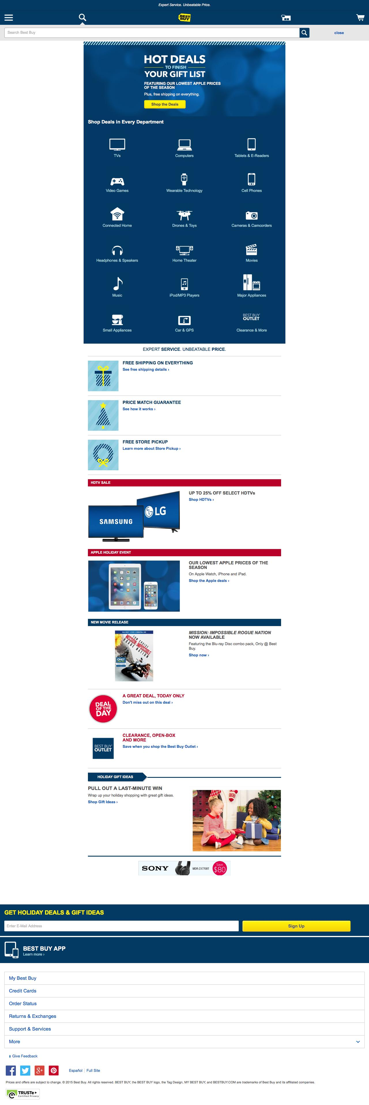 A page on bestbuy.com in the collection \