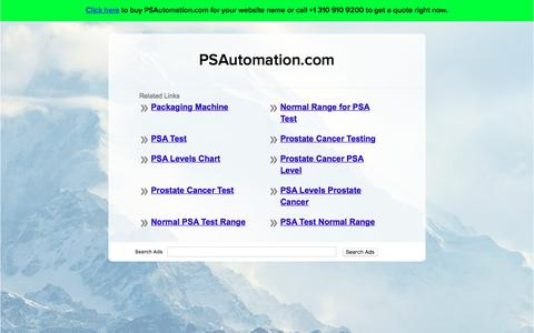 Screenshot of Home Page psautomation.com - PSAutomation.com - captured Sept. 26, 2018