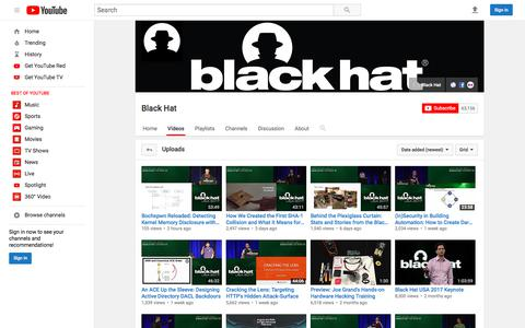 Black Hat  - YouTube