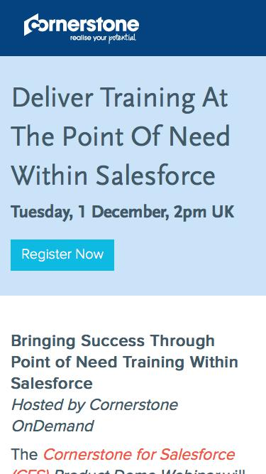 Deliver Training At The Point of Need Within Salesforce