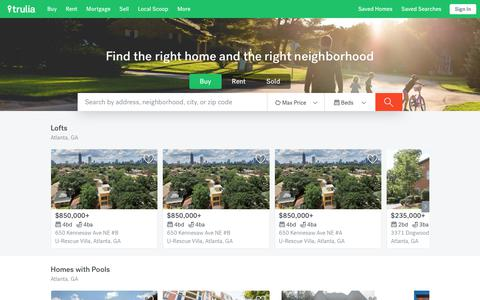 Trulia: Real Estate Listings, Homes For Sale, Housing Data