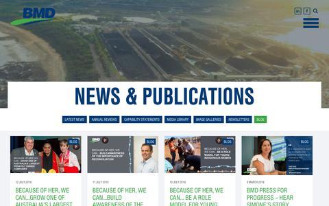 Screenshot of Blog bmd.com.au - Blog Archives - BMD - captured Oct. 4, 2018