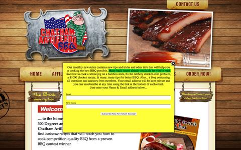 Screenshot of Home Page Site Map Page bbq-book.com - Barbecue Recipes | Barbecue Cookbook | BBQ Recipes | Competition BBQ Secrets - captured Aug. 28, 2016