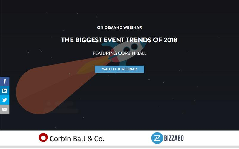 The Biggest Event Trends of 2018 Webinar | Bizzabo